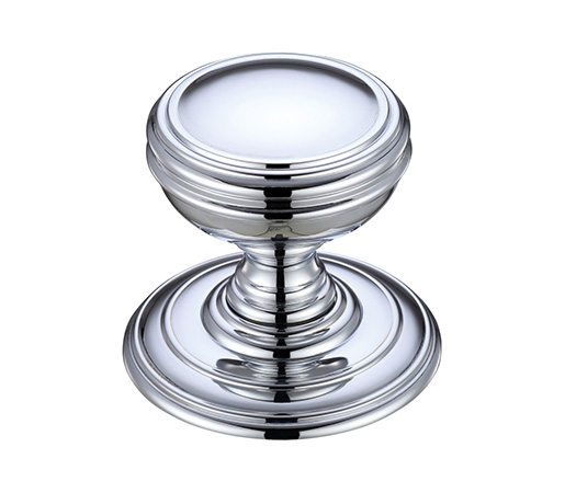 Chrome & Nickel Door Knobs