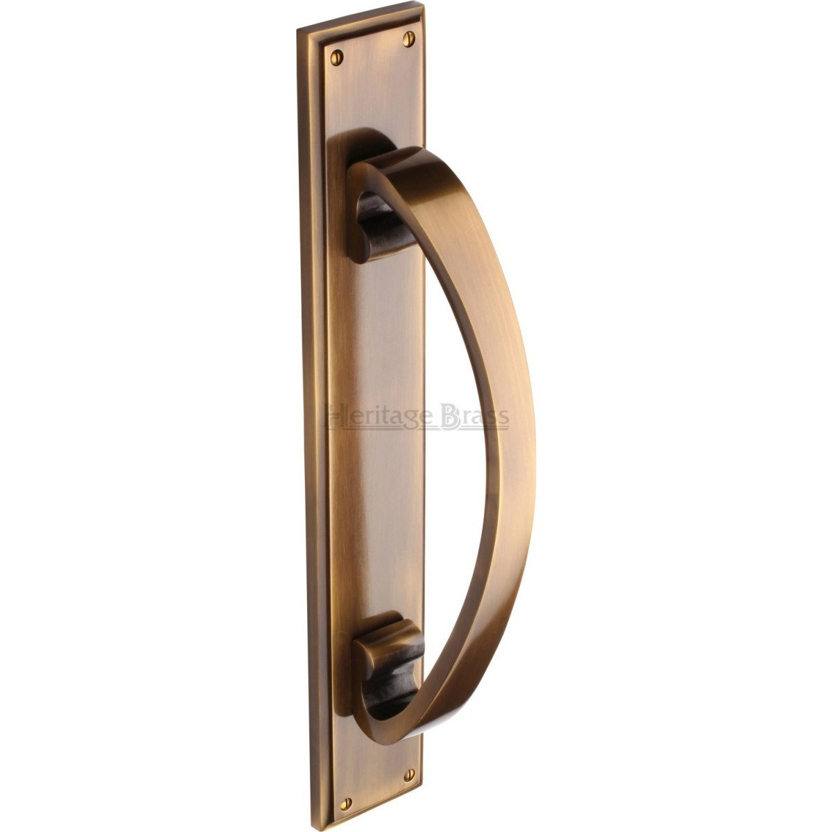 Heritage Brass Pull Handle On Plate Large V1162 Pull