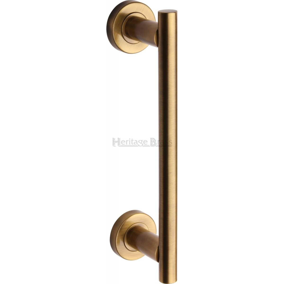 Heritage Brass Pull Handle On Rose V2057 Pull Handles