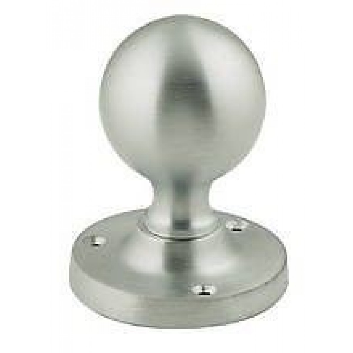 Jv48 Frelan Sprung Ball Shape Mortice Door Knob Chrome