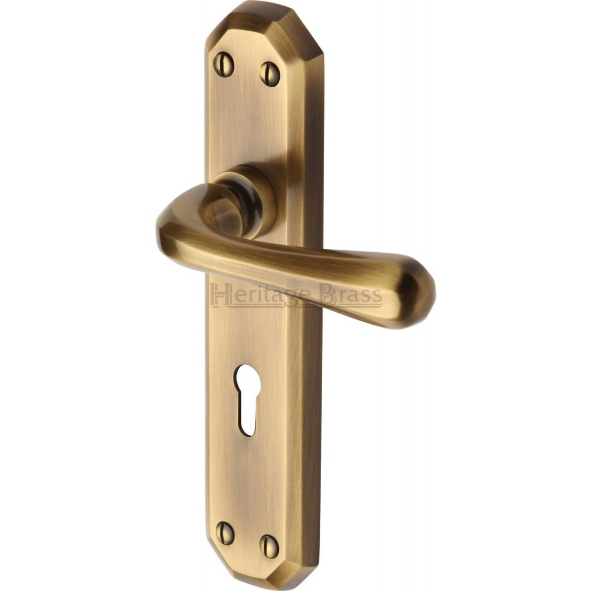 Heritage Brass Charlbury Door Handle V7050 Door Handles On