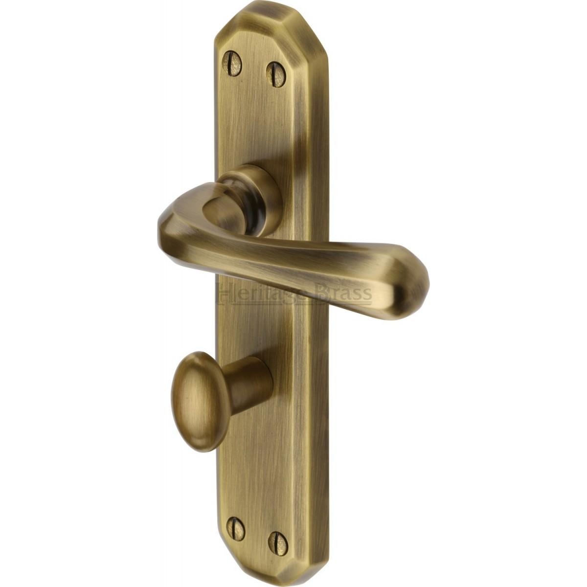 Heritage Brass Charlbury Door Handle V7050 Door Handles