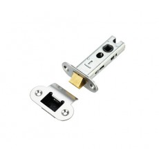 Architectural Tubular Latch 76mm in Radius Plate