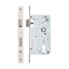 Euro Sash Lock in Satin Stainless Steel 60 mm