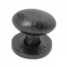 Frelan Black Antique Oval Cupboard Knob Jab45