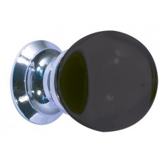 Frelan Black Glass Ball Cupboard Knob Jh1206