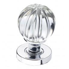 Jh5202 Frelan Glass Pumpkin Door Knob