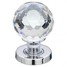 Jh5255 Frelan Glass Faceted Door Knob