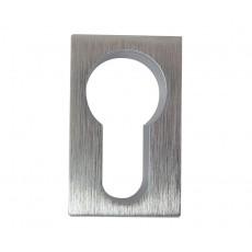 Frelan Minimal Square Euro Profile Escutcheon - JV222