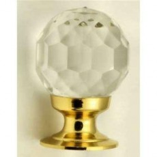 Frelan Glass Faceted Cupboard Knob Jh1155