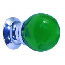 Frelan Green Glass Ball Cupboard Knob Jh1208