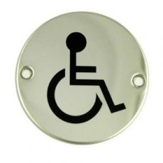 Frelan Door Sign - Disabled Pictogram