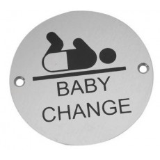 Frelan Door Sign - Baby Change Pictogram