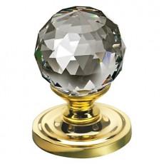 Frelan Swarovski Crystal Door Knob - Faceted Large 2000/60