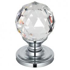 Frelan Swarovski Crystal Door Knob - Faceted Small 2000/50