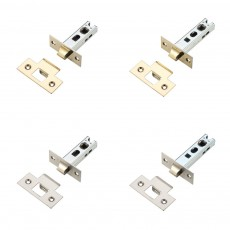 Zoo Hardware Contract Bolt Through Tubular latch in 2.5 inch